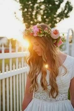 Coiffure de mariage wedding hair style}