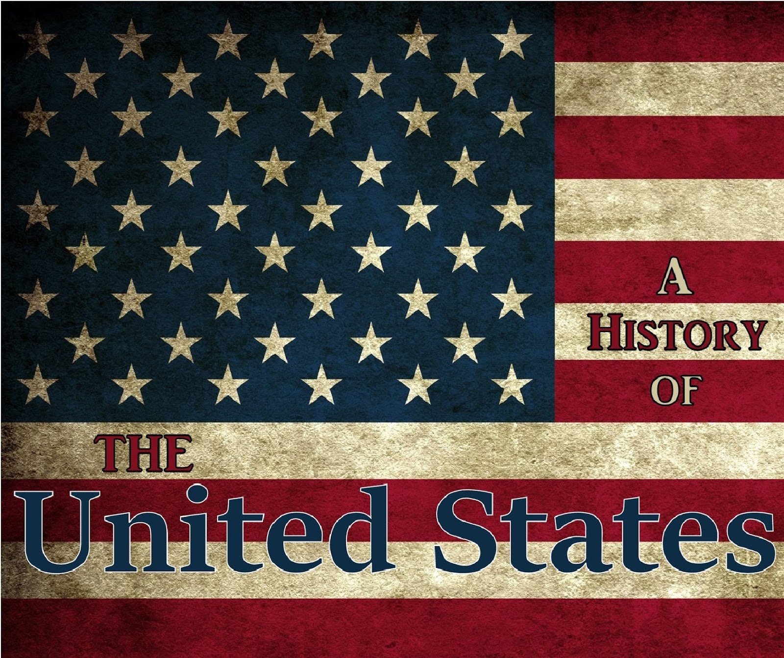 Thehistoryof Podcast A History Of The United States Logo