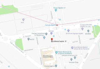 lugar de reunión inversora en Madrid