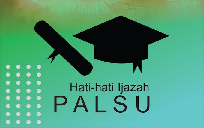 Pendidikan dan Ijazah Palsu