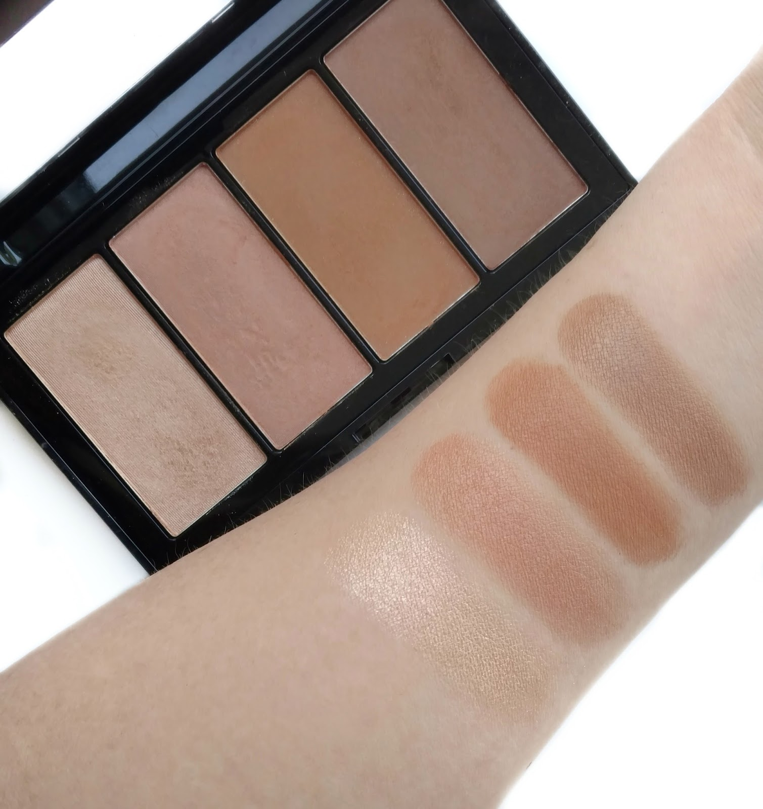 Maybelline Master Bronze Palette Review & Swatches - Beauddiction