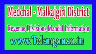Medchal - Malkajgiri District Revenue Divisions Mandal Information