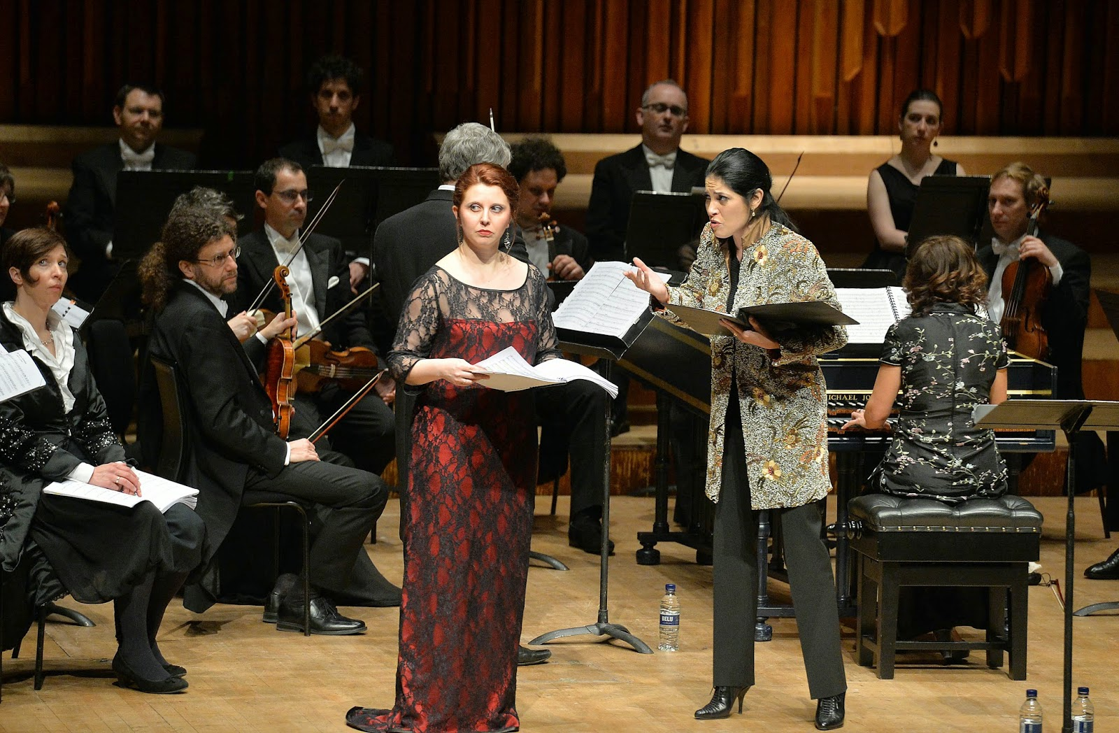 Marina de Liso and Vivica Genaux - Vivaldi's L'Oracolo in Messenia at the Barbican - photo Mark Allan/Barbican