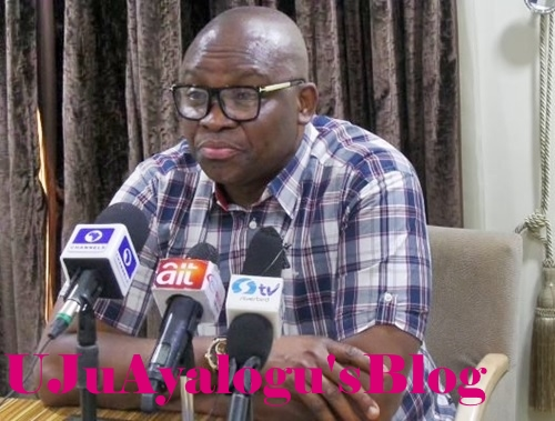 Leaving PDP for APC is Like Leaving Jesus Christ for Satan - Gov. Fayose Addresses Viral Reports