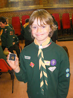 blue peter badge gold award