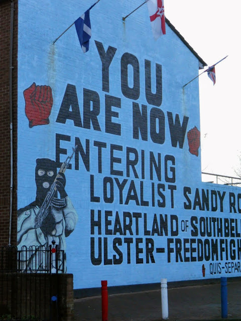 Why visit Belfast: The loyalist murals of Sandy Row