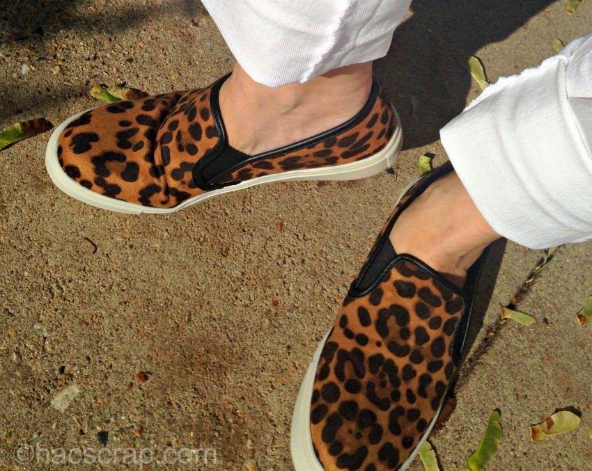 Animal Print Slip-On Sneakers from Target
