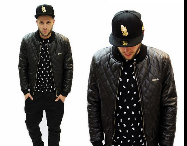 Latest Fashion: HipHop Style With Black Jacket