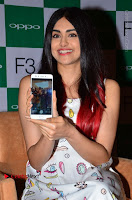 Bollywood Actress Adah Sharma Pos in White Printed Short Dress at OPPO F3 Plus Selfie Expert Mobile Launch .COM 0013.jpg