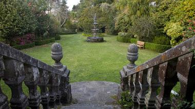 Los pazos gallegos. Jardín botánico del Pazo Quinteiro da Cruz