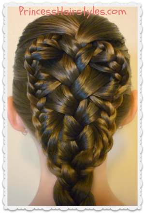 Stingray Braid Hairstyle Tutorial Hairstyles For Girls
