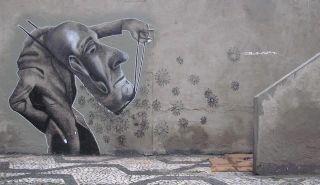 Мрачные рисунки на стенах. Ethos 33