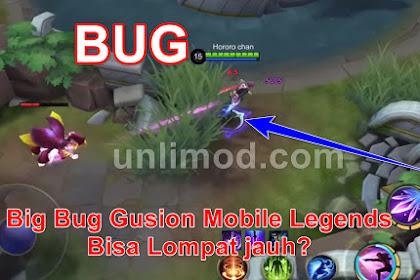 Big Bug Gusion Mobile Legends, Bisa Lompat jauh?