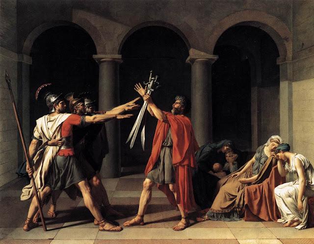 Resultado de imagen de david, juramento de los horacios
