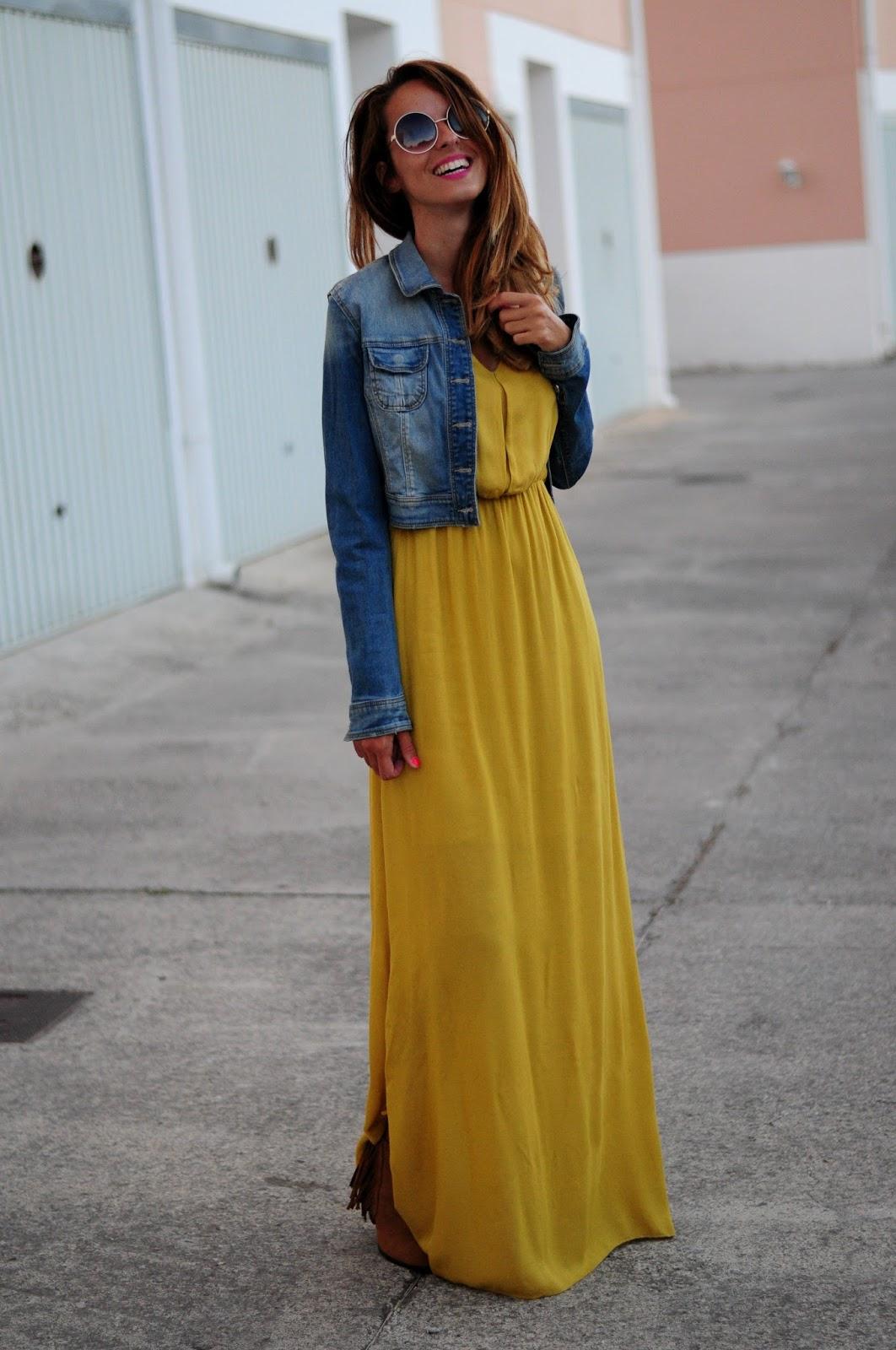 Vestido Color Mostaza Corazón De Maniquí Bloglovin