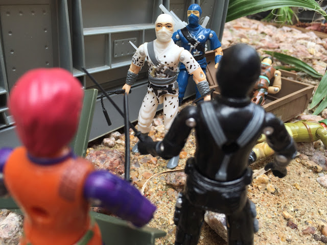1997 Stormshadow, Snake Eyes, Scarlett, Gung Ho, Short Fuse, Black Major, Bootleg, Blue Stormshadow, Ninja Viper