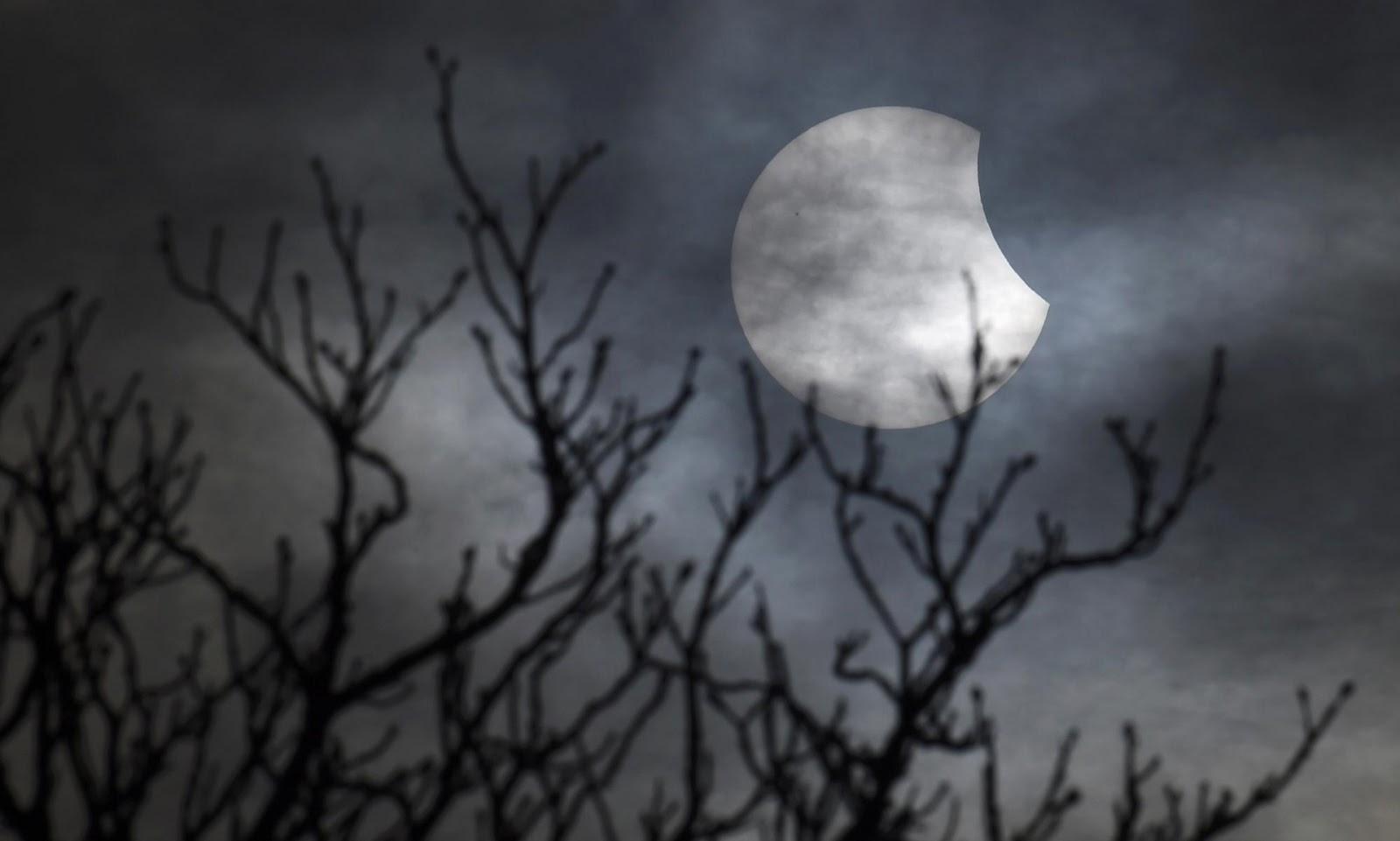 Solar eclipse 2015 Europe