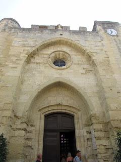 Iglesia  de Notre Dame des Sablons. Aigües Mortes.La Camarga