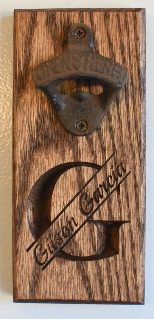 -G- Bottle Opener - Garcia Style