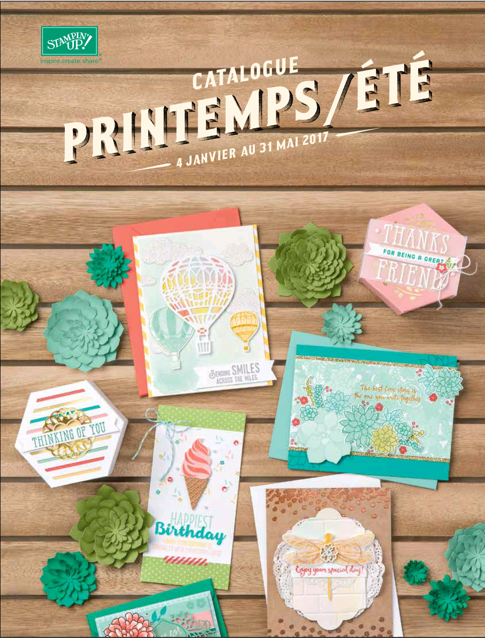 Catalogue saisonnier Printemps/Eté 2017