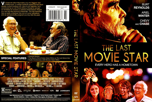 The Last Movie Star (scan) DVD Cover