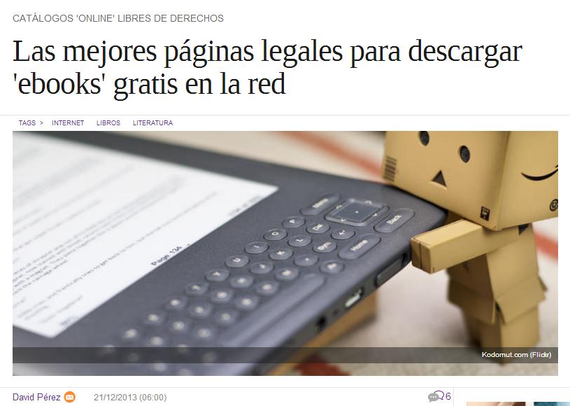 TODOS Los SITIOS Donde Descargar LIBROS GRATIS En ESPAÑOL