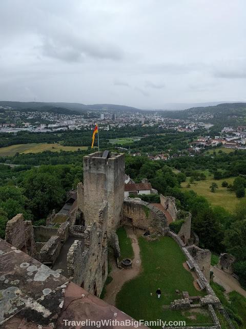 Can you get inside Rötteln Castle near Basel, Switzerland