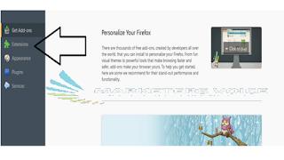 اضافة انترنت داونلود مانجر للفايرفوكس
