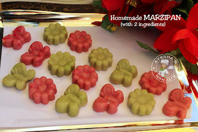 marzipan 2 ingredient marzipan sweet recipes christmas sweets cashew powder sweets ayeshas kitchen recipes desserts recipes yummy treat