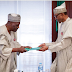 PHOTOS: Buhari Recieves Panel Report On NIA Administrative Structure