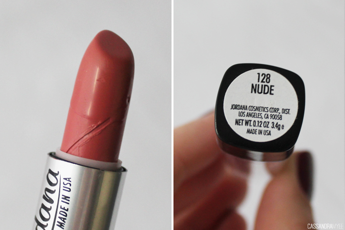 JORDANA // Lipstick Collection + Swatches - Nude - cassandramyee
