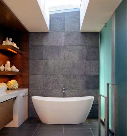 model desain dekorasi kamar mandi minimalis terbaru