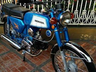 Forsale Honda Benly S110 tahun 1974