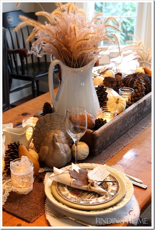 10 Thanksgiving Tablescape Ideas   Days of Chalk and Chocolate