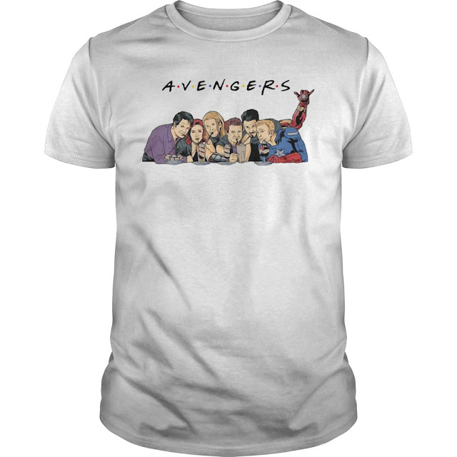 Avengers Friends T Shirts Hoodie Sweatshirt