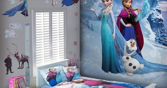 dormitorios tem ticos de frozen para ni