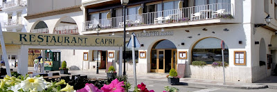 capri restaurante menu sin gluten-gluten free