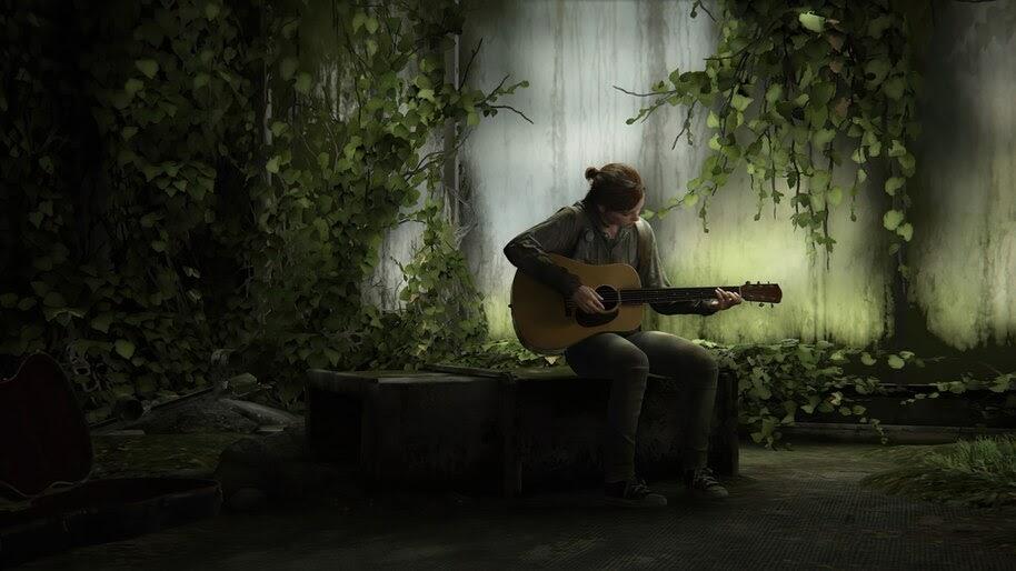 Ellie, Guitar, Last of Us 2, 4K, #5.2491