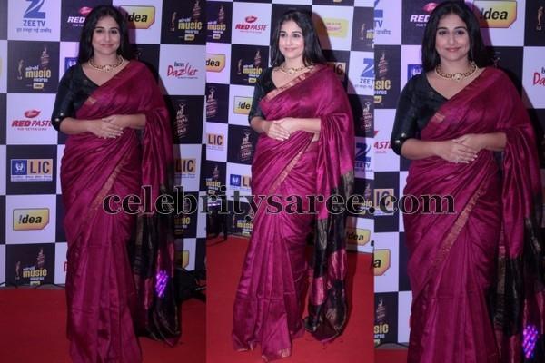Vidya Balan at Mirchi Awards