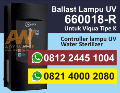 Ballast untuk Lampu UV Viqua/Sterilight K