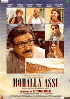 Mohalla Assi 2018 Full Hindi Movie Download HDRip 720p