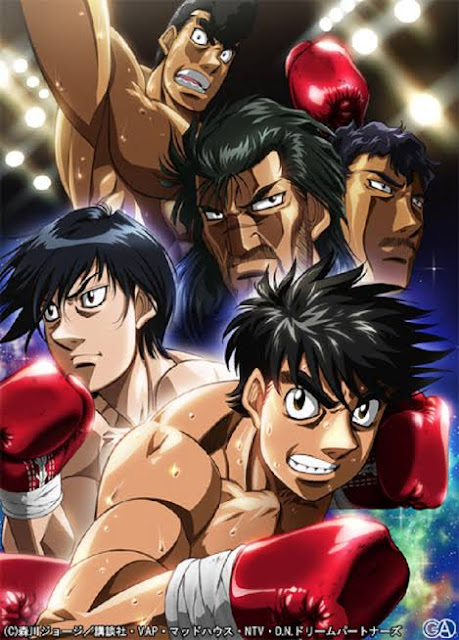 Hajame no Ippo Anime key visual