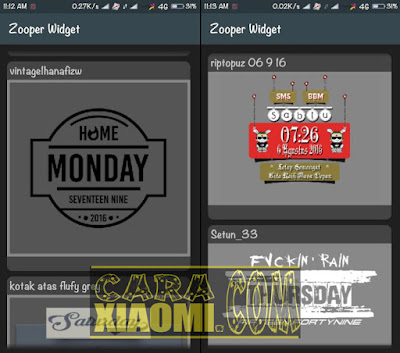 download Download Kumpulan Template Zooper Widget Pack for Android Tanpa Root