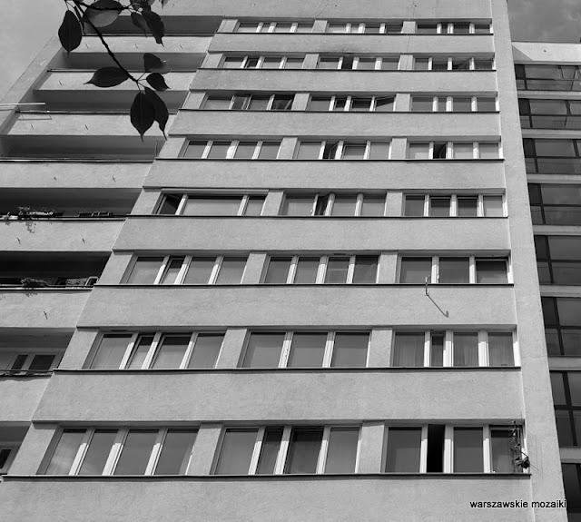 Warsaw blok bloki bloczyska architektura blokowisko Żoliborz