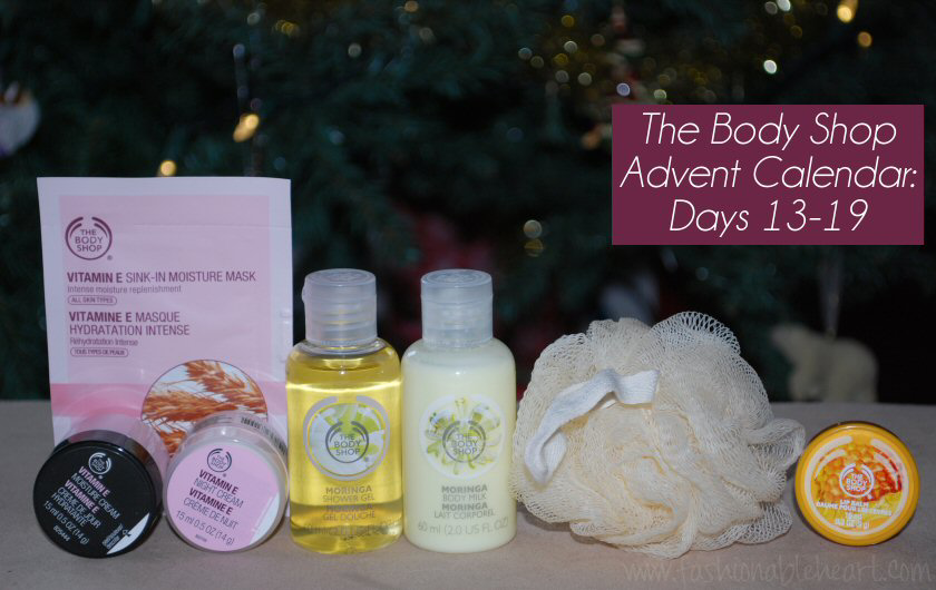 body shop advent calendar 2014 skincare christmas
