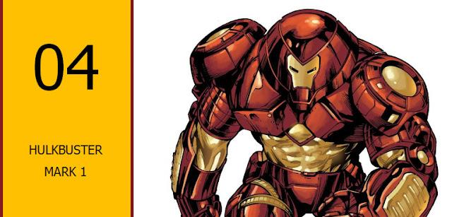 macam armor iron man