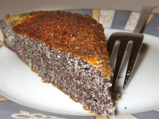 Sinnesfreuden Low Carb Quark Mohn Kuchen
