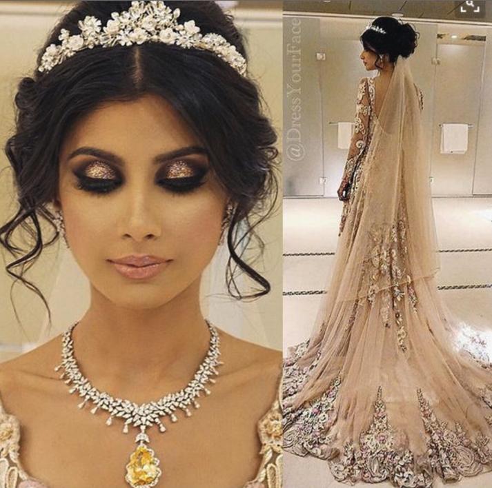 Princess Wedding Hairstyles: Guilty Bytes: Indian Fashion Blogger
