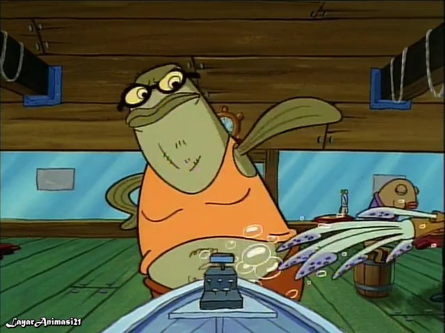 SpongeBob Season 1 Episode 6B - Pickles SD 480p Dub Indo