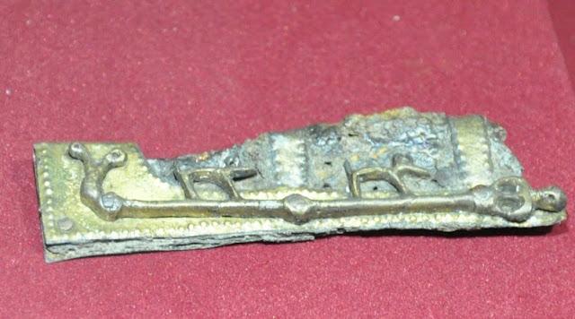 MPP na Lednicy - ozdobne okucie pochwy noża